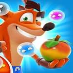 Crash Bandicoot And Frog Super Shooter Bubbles