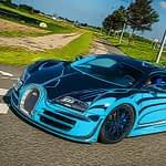 French Luxury Cars Jigsaw