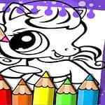 Littlest Pet Shop Coloring Book