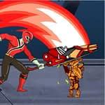 Power Rangers Kill Space Zombies