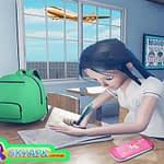 Virtual High School Girl Game- School Simulator 3D